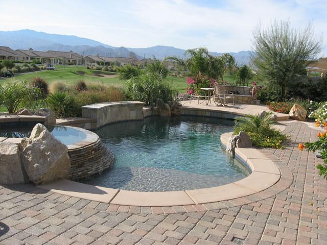 Palm Desert Pools Stonecreek Pools And Spas Pool Photos